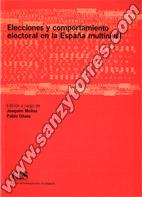 Elecciones Y Comportamiento Electoral En La España Multinivel