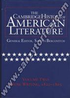 The Cambridge History of American Literature II