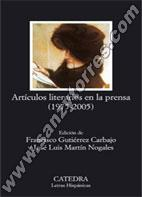 Artículos Literarios En La Prensa (1975-2005)