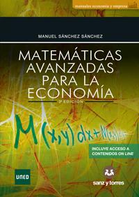 Matemáticas Avanzadas Para La Economía