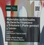 DVD Materiales Audiovisuales De Derecho Financiero Y Tributario I