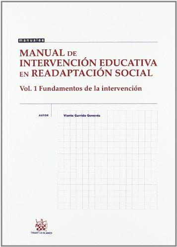 Manual de intervención educativa en readaptación social 1