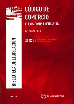 Código De Comercio Y Leyes Complementarias (42ª - 2018)