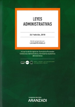 Leyes Administrativas (24ª - 2018)
